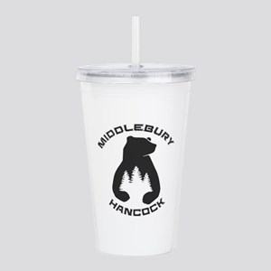 Middlebury College Sno Acrylic Double-wall Tumbler