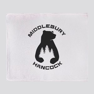 Middlebury College Snow Bowl - Han Throw Blanket