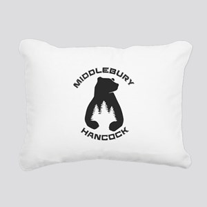 Middlebury College Snow Rectangular Canvas Pillow