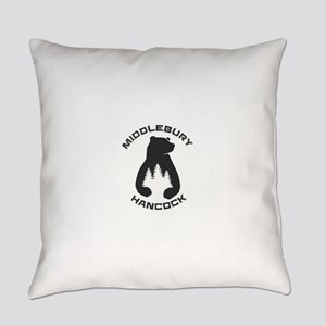 Middlebury College Snow Bowl - H Everyday Pillow