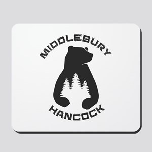 Middlebury College Snow Bowl - Hancock Mousepad