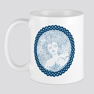 Celtic Mother Moon Design Mug