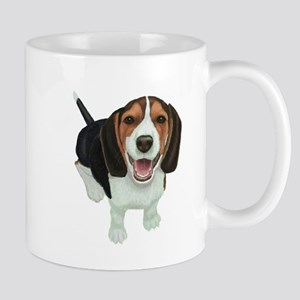 Smiling Beagle Puppy Mugs