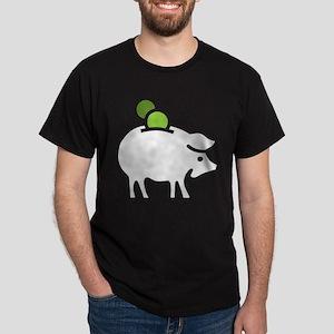 Piggy Bank Dark T-Shirt