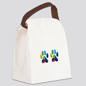 2 paws Canvas Lunch Bag