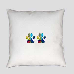 2 paws Everyday Pillow