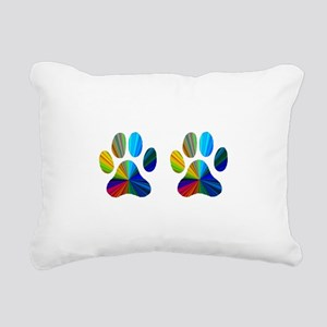 2 paws Rectangular Canvas Pillow