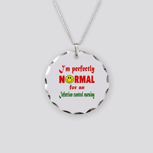 I'm perfectly normal for an Necklace Circle Charm