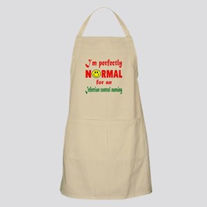 I'm perfectly normal for an Infection Light Apron