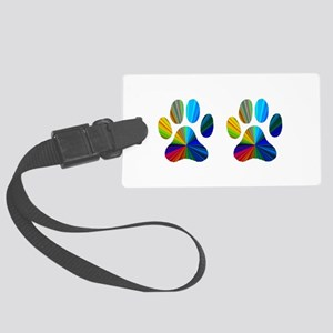 2 paws Large Luggage Tag