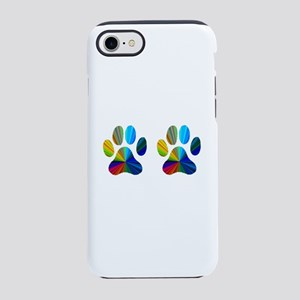 2 paws iPhone 8/7 Tough Case