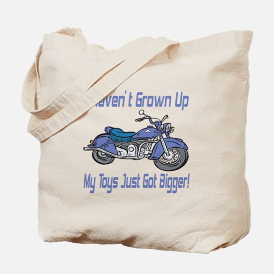 Motorcycle Toys Tote Bag