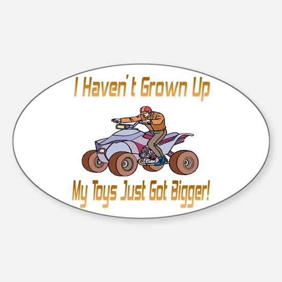 Quad Toys Oval Decal