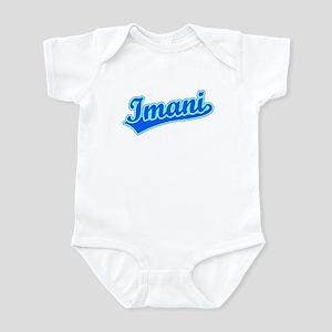 Retro Imani (Blue) Infant Bodysuit