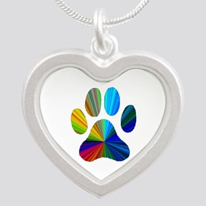 10 x 10 rainbow paw Necklaces