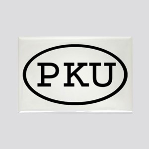 PKU Oval Rectangle Magnet