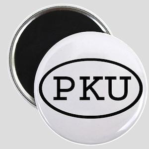 PKU Oval Magnet