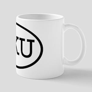 PKU Oval Mug