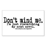 Novel Research Rectangle Sticker 10 pk)