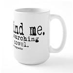 Novel Research Large Mug