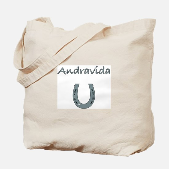 Andravida Horses Tote Bag