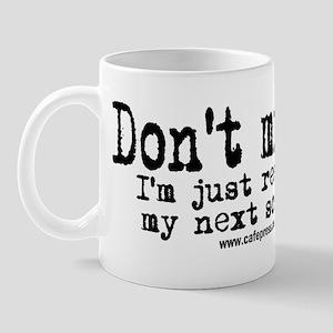 Screenplay Research Mug
