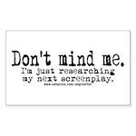 Screenplay Research Rectangle Sticker 10 pk)