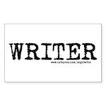 Writer Rectangle Sticker 50 pk)