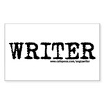 Writer Rectangle Sticker 10 pk)