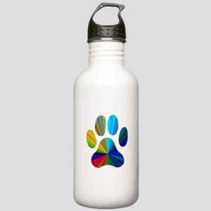 10 x 10 rainbow paw.pn Stainless Water Bottle 1.0L