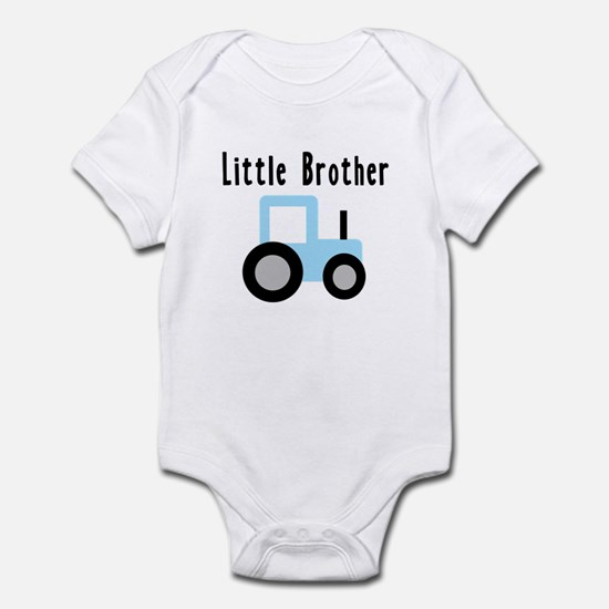 Little Brother - Light Blue T Infant Bodysuit