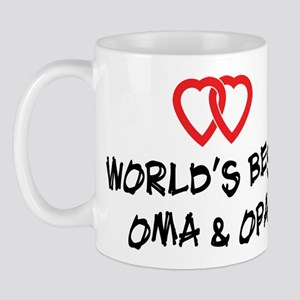 World's Best Oma and Opa Mug