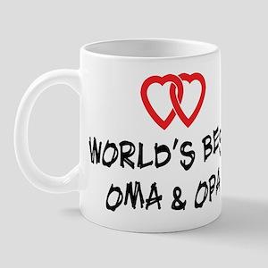 World's Best Oma and Opa Mug