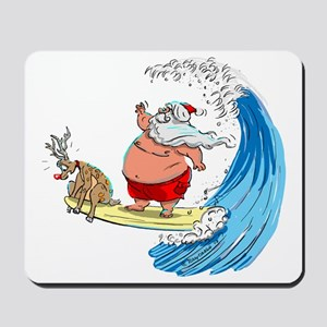 SaNtA aNd RuDoLf Mousepad