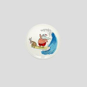 SaNtA aNd RuDoLf Mini Button