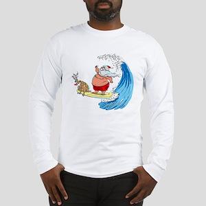 SaNtA aNd RuDoLf Long Sleeve T-Shirt
