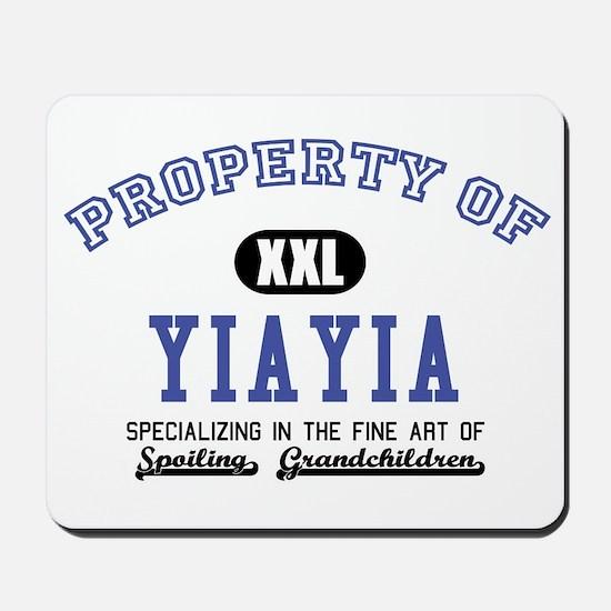 Property of YiaYia Mousepad