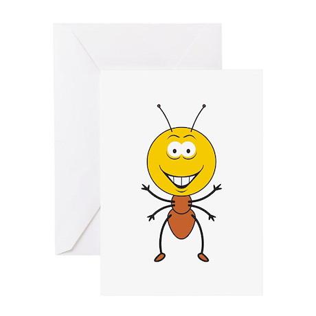La cosa se está poniendo calentita  Ant_Smiley_Face_Greeting_Card_300x300