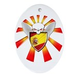 Spanish Defender Ornament (Oval)