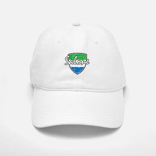 Salone distressed flag Baseball Baseball Cap