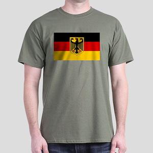 German Eagle Flag Dark T-Shirt