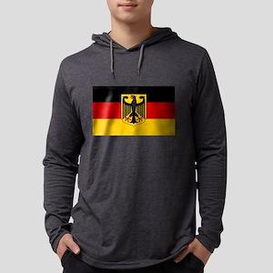 German Eagle Flag Mens Hooded Shirt