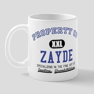 Property of Zayde Mug