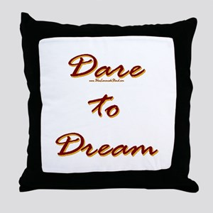Dare Worthy Throw Pillow