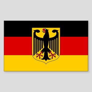 German Eagle Flag Sticker