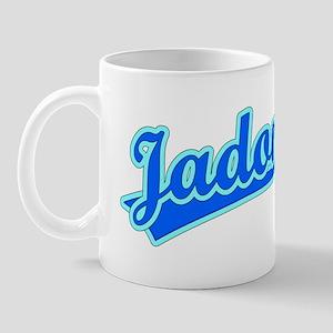 Retro Jadon (Blue) Mug