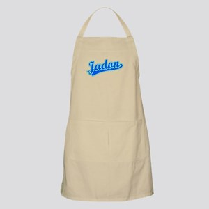 Retro Jadon (Blue) BBQ Apron