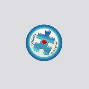 Autism Awareness (B2b) Mini Button
