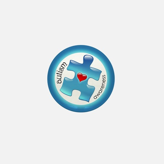 Autism Awareness (B2b) Mini Button