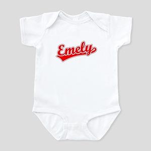 Retro Emely (Red) Infant Bodysuit